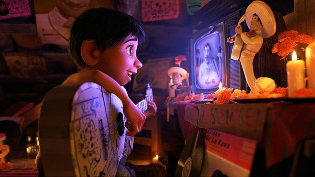 Scene from Coco.