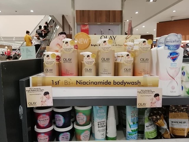 Win in Watsons Bright and Win OlayBody Science