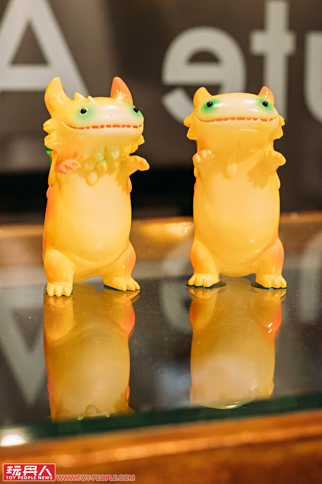 Shoko Nakazawa 臺灣首次個展【Cute Aggressive】at The little hut 現場報導 山椒魚怪獸可愛大進擊! | 玩具人Toy People News