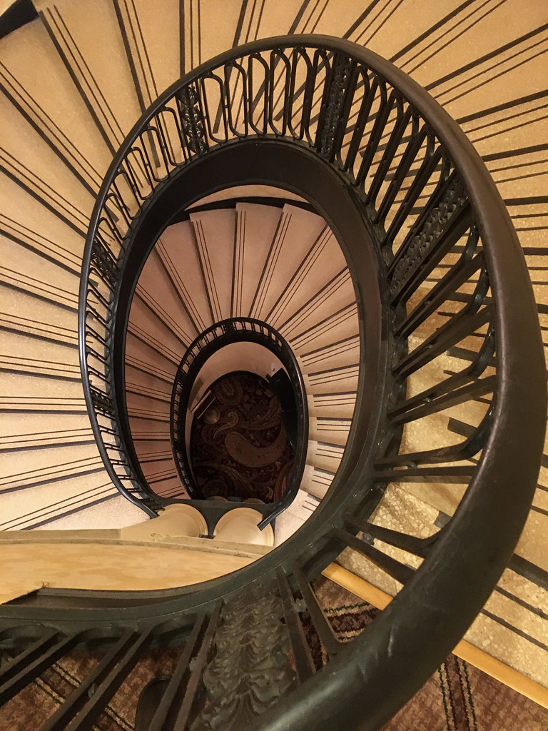 Stairs at the Palmer House