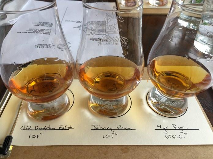 At Willett Distillery
