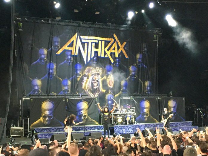 Anthrax Concert