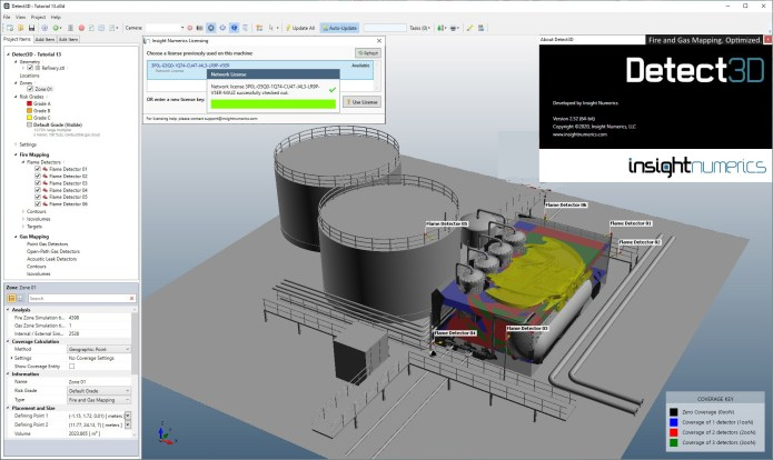 Working with Insight Numerics Detect3D 2.52 full
