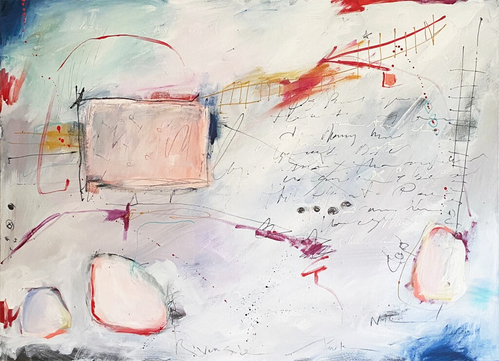 Painting: Postcard – Orpheus on the B Train