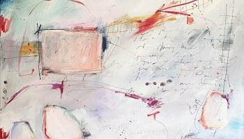 Painting: Postcard -Orpheus on the B Train
