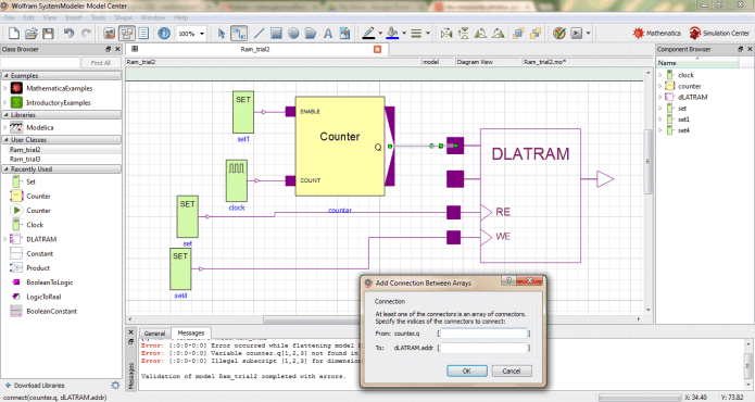 Working with Wolfram SystemModeler 12.2.0 full