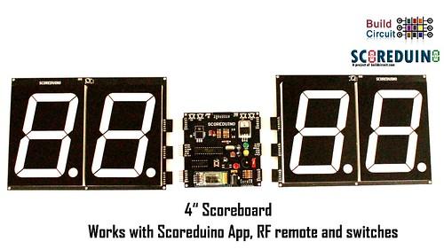 Bluetooth Controlled Digital Scoreboard based on Scoreduino-B (21)