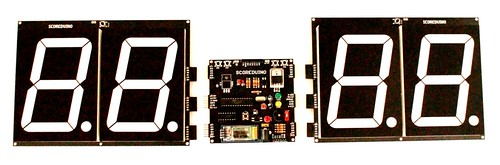 Bluetooth Controlled Digital Scoreboard based on Scoreduino-B (19)