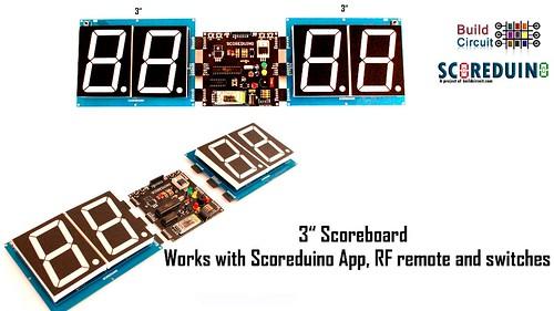 Bluetooth Controlled Digital Scoreboard based on Scoreduino-B (18)