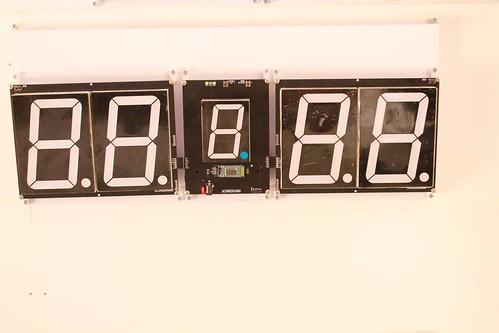 SCORE5 Arduino based Digital Scoreboard with Common anode Seven segments display (2)