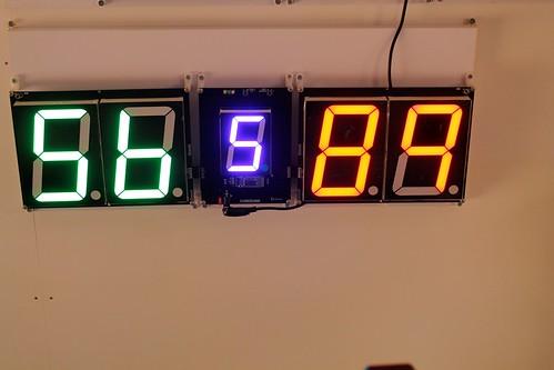 SCORE5 Arduino based Digital Scoreboard with Common anode Seven segments display (4)