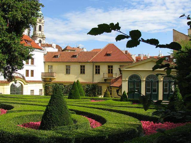 Jardines Vrtba - Barrio de Malá Strana - Qué ver en Praga