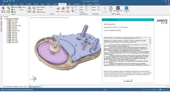 Working with ANSYS SpaceClaim 2021 R1 full license