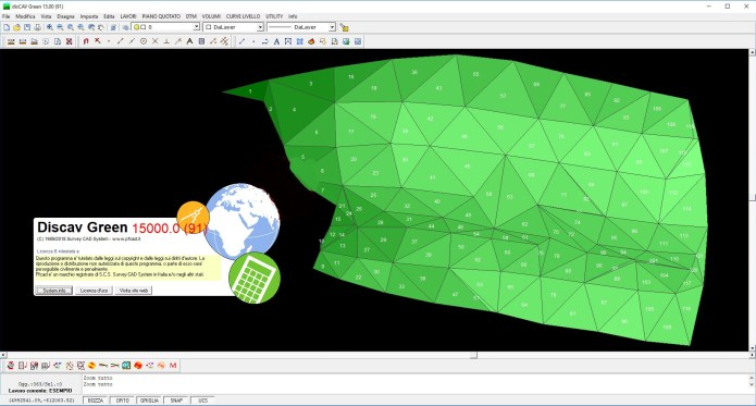 Working with Survey CAD System pfCAD disCAV Green v15.00.91 full
