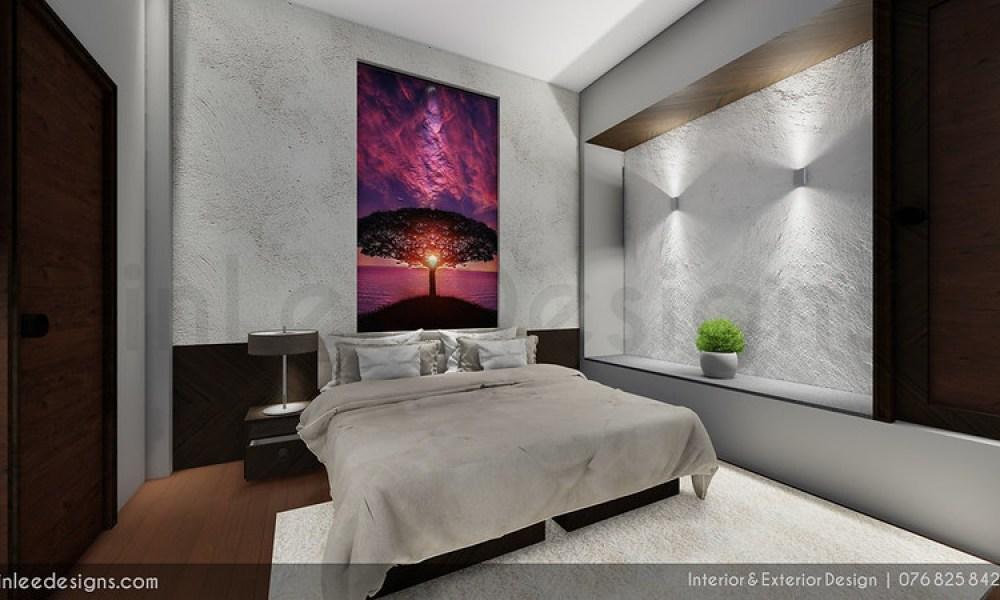 COZY MINIMALIST BEDROOM INTERIOR