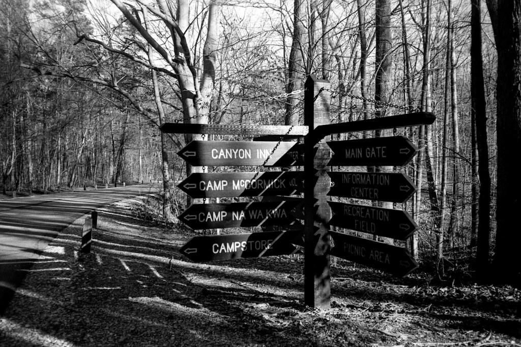 At McCormick's Creek State Park