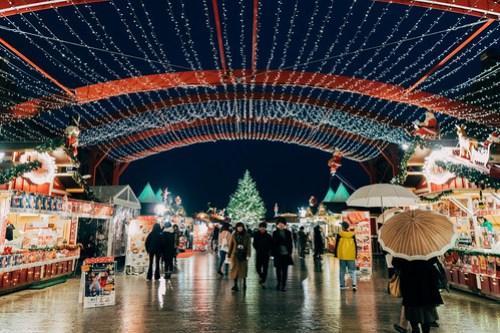 Christmas market @ Red Brick Warehouse, Yokohama, Japan