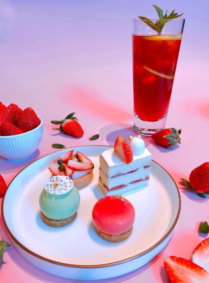 大堂酒廊「草莓• 悅茶」 Strawberry Grand Set at Lobby Lounge