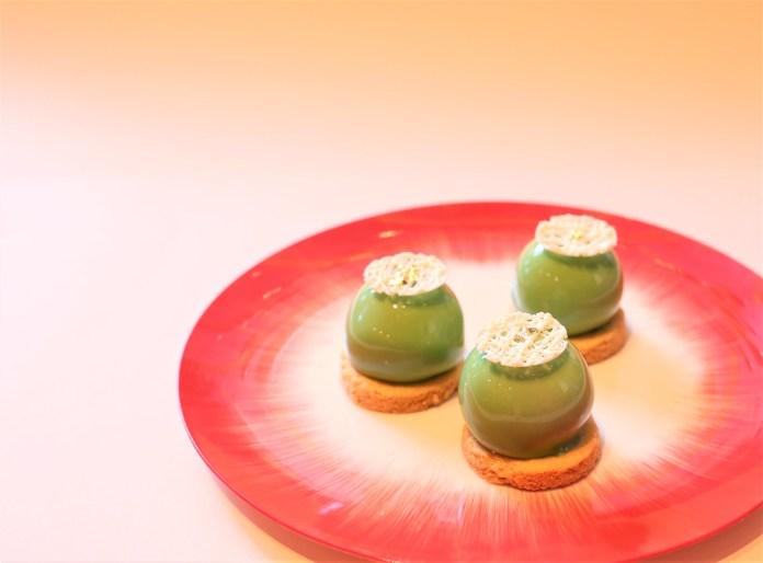 開心果草莓蛋糕 Pistachio strawberry cremeux