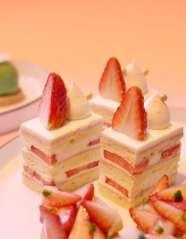 草莓蛋糕 Strawberry cream shortcake