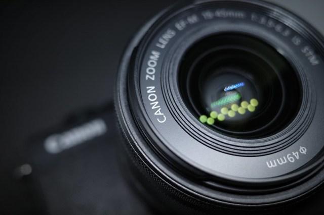 Canon ミラーレス一眼「EOS M200レンズキット」を手に入れました。