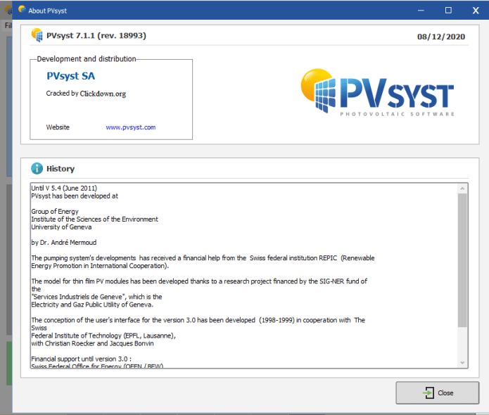 Working with PVsyst Professional 7.1.1.18993 full license