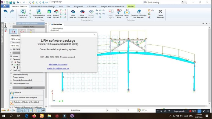 Working with Lira Soft v10.8 R3.6 full license