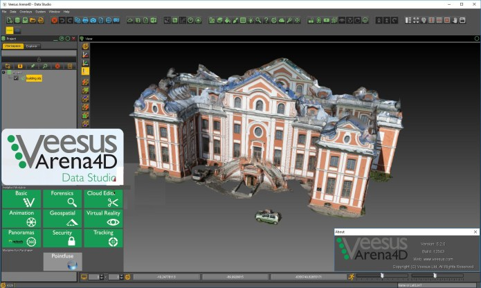 Working with Veesus Arena4D Data Studio v5.2 full