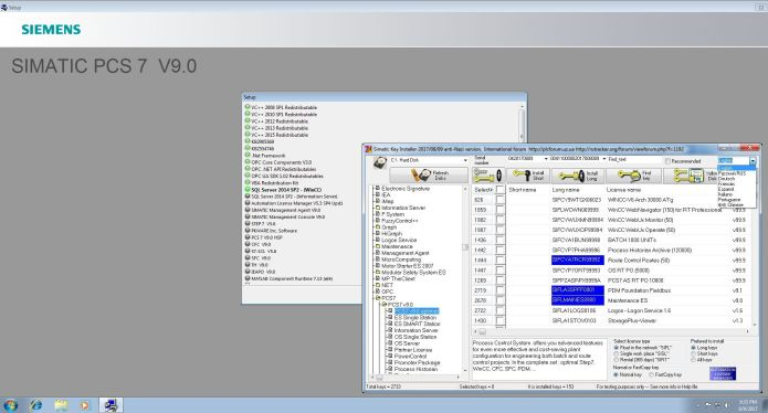 Working with SIEMENS SIMATIC PCS7 V9.0 SP3 full