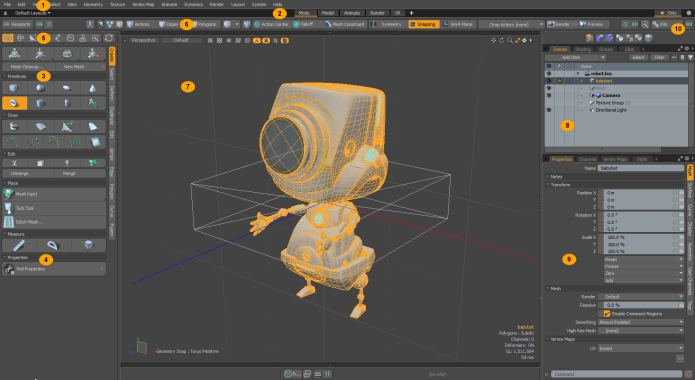 Working with The Foundry Modo 14.2v2 full
