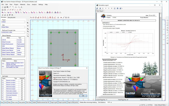 Working with Engissol Cross Section Analysis & Design v4.2 full
