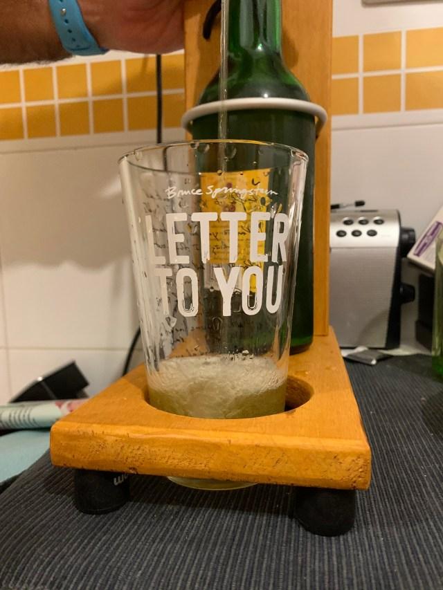 Brindando con Letter to you