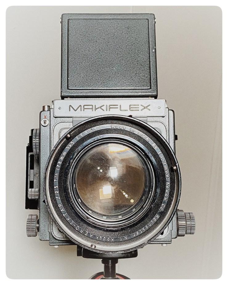 Plaubel Makiflex 4x5 back mod