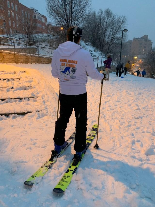 Esquí en Arganda del Rey