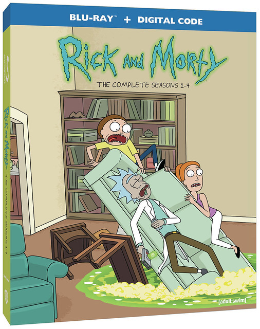 Just Announced - Rick and Morty: Seasons 1-4 @WBHomeEnt #MySillyLittleGang