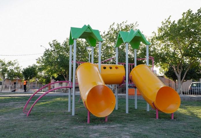 2021-01-12 PRENSA: Inauguración del Parque de los Barrios La Estancia y 17 de Octubre en Chimbas