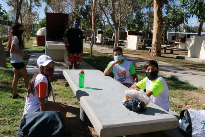 2021-01-13: DESARROLLO HUMANO : Verano en Casa Chimbas