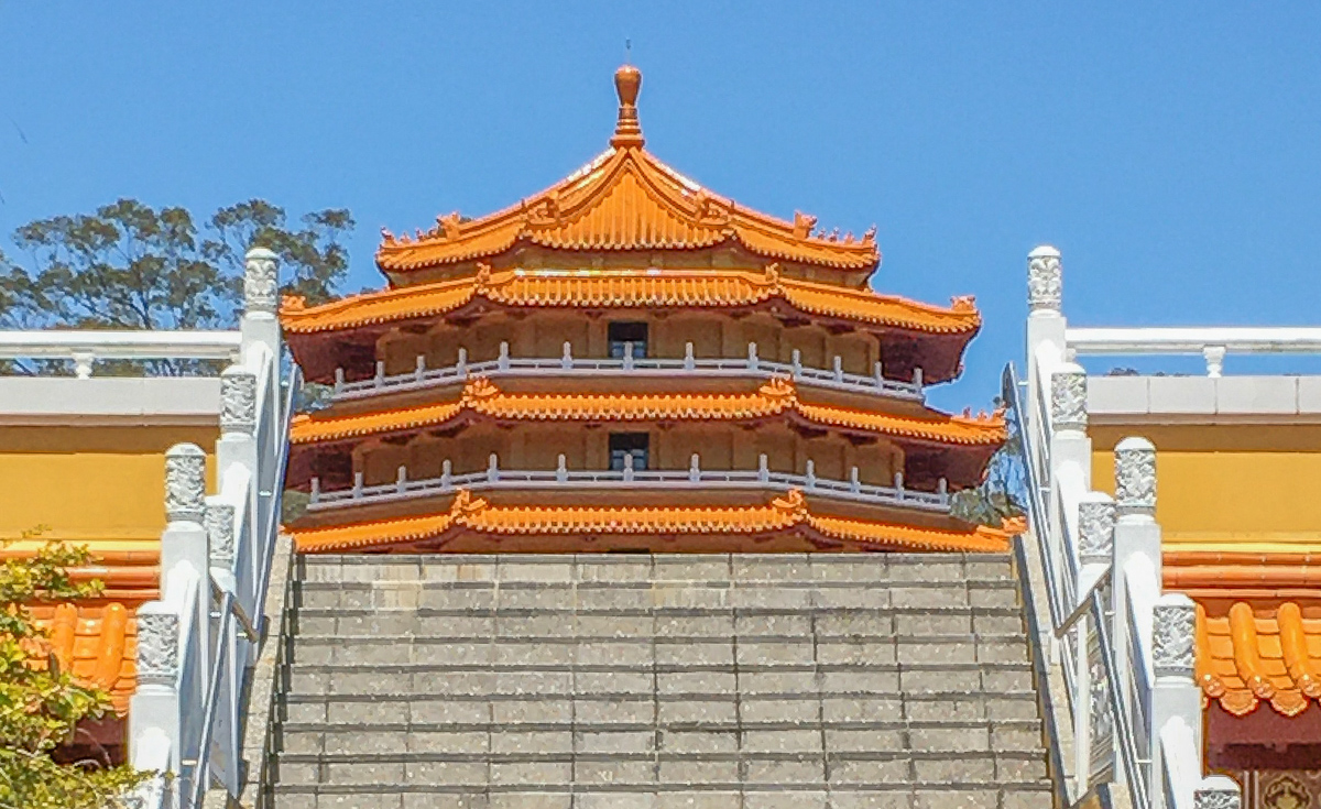 Chung Tian Buddhist Temple, Priestdale QLD Australia