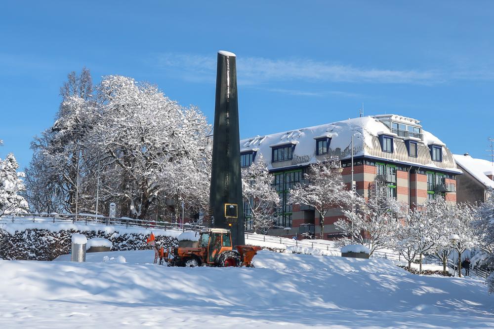Schnee Spaziergang Friedrichshafen am Bodensee Januar 2021 hyyperlic-52