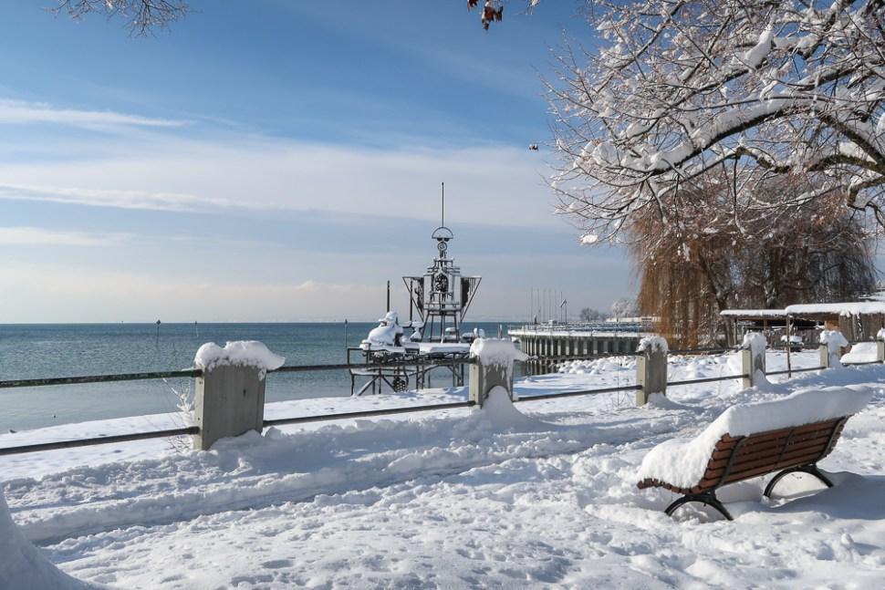 Sightseeing Walk Snow Lake Constance Friedrichshafen January 2021 Blog JoyDellaVita-35