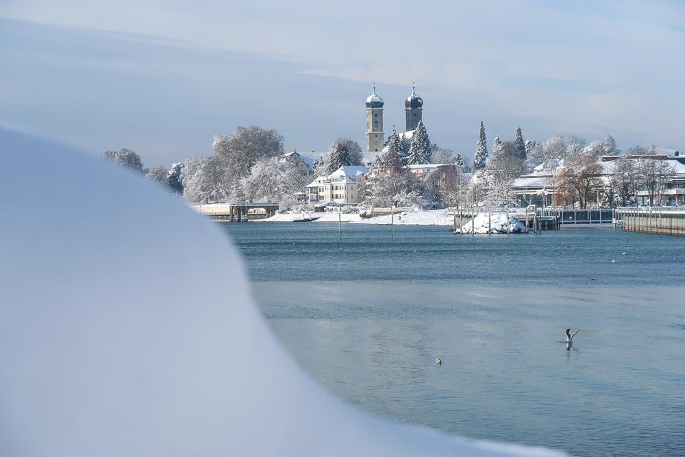 Schnee Spaziergang Friedrichshafen am Bodensee Januar 2021 hyyperlic-35