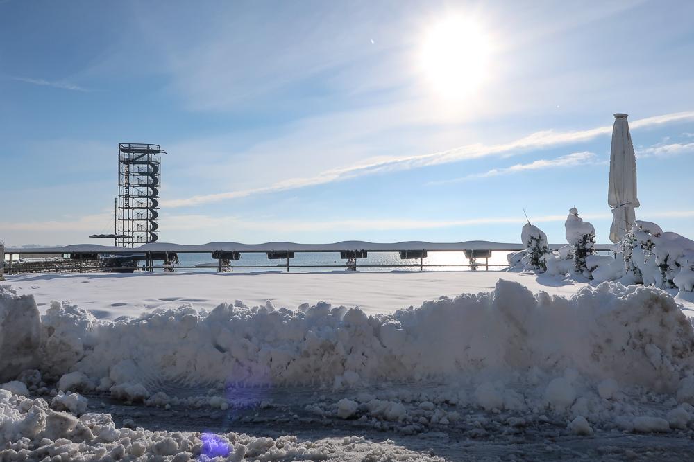 Schnee Spaziergang Friedrichshafen am Bodensee Januar 2021 hyyperlic-12