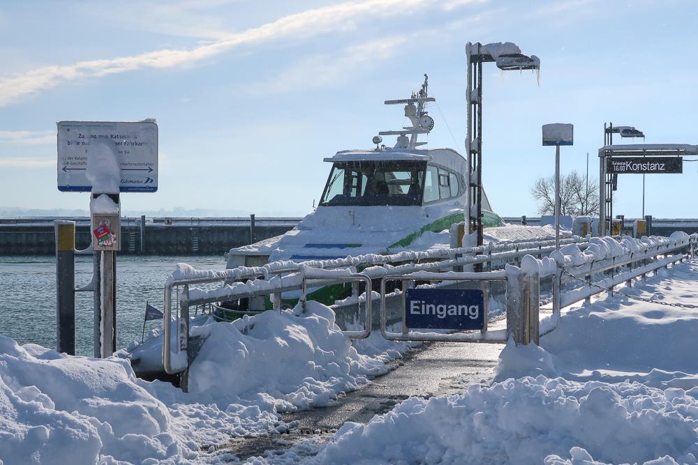 Schnee Spaziergang Friedrichshafen am Bodensee Januar 2021 hyyperlic-08