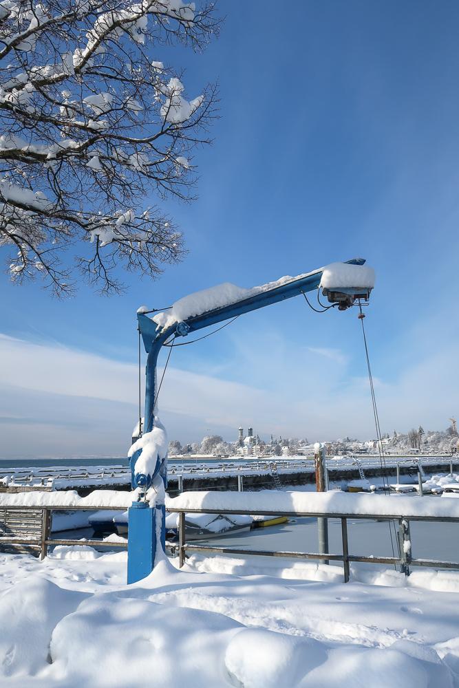 Sightseeing Walk Snow Lake Constance Friedrichshafen January 2021 Blog JoyDellaVita-18