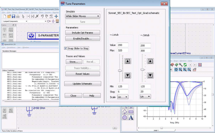 Working with Sonnet Suite Pro v17.52 full license