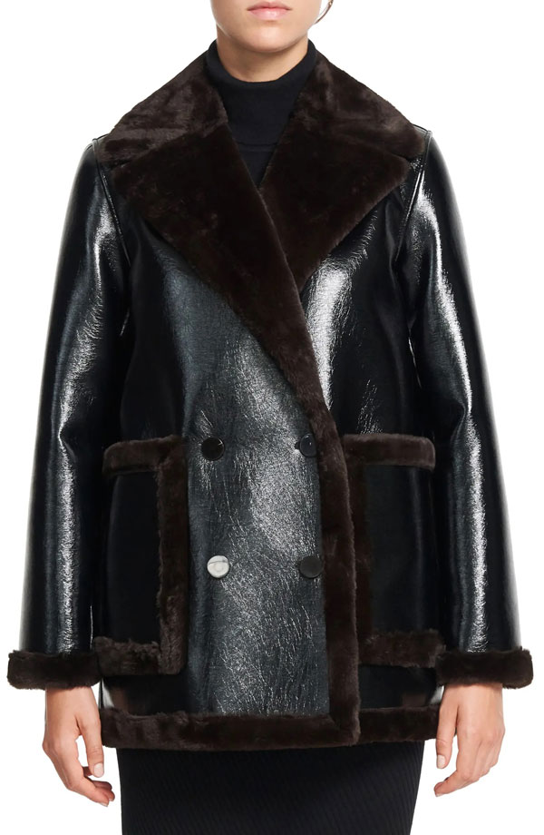 theory-faux-leather-fur-peacoat
