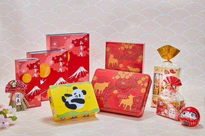 50年日本頂級甜點品牌 YOKU MOKU 賀年禮盒喜氣登場