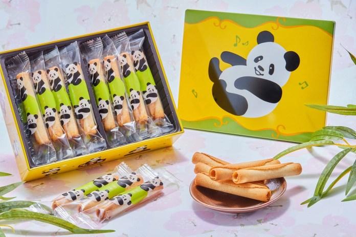 品牌亦新推出了「熊貓迷你雪茄蛋卷禮盒(特別版)(16件)」,並只限香港及日本地區發售!