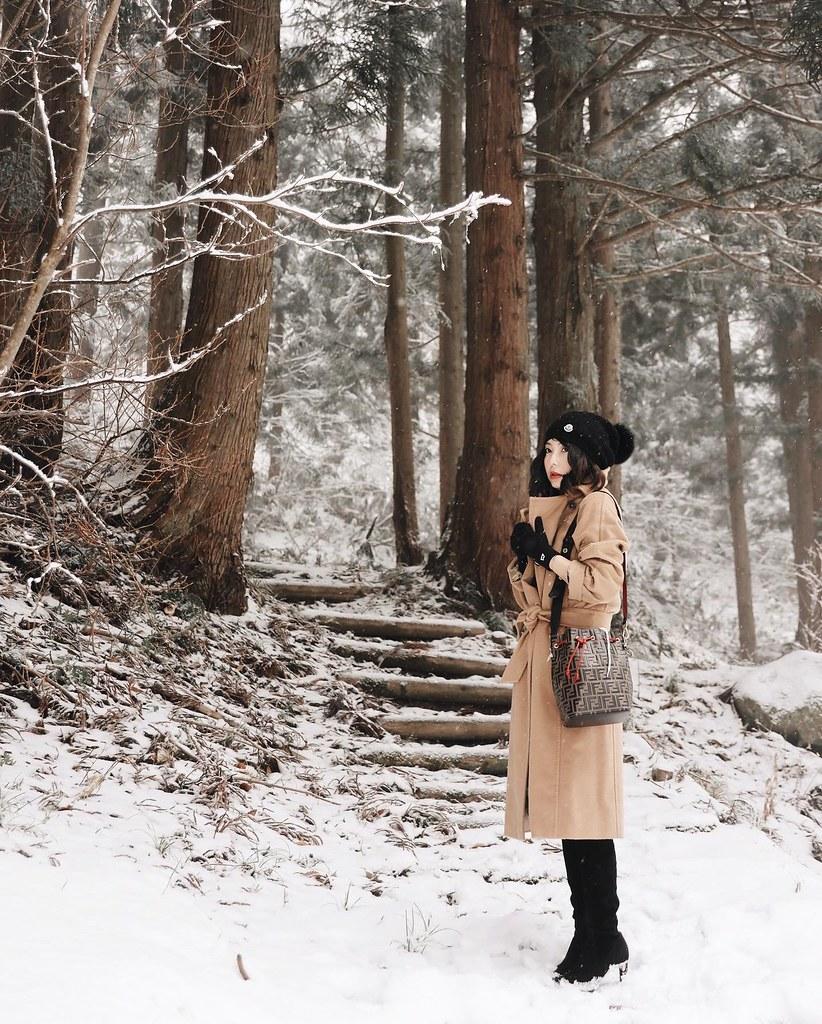 「真」日本穿搭:藏王四季溫泉飯店,Manuela冷不冷?