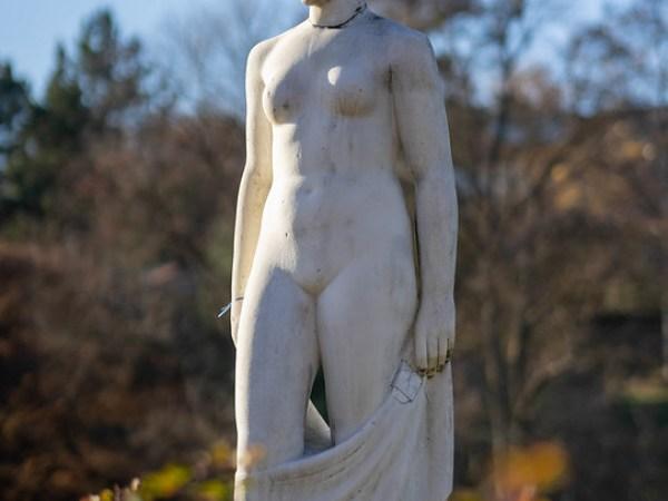 Marble statue Killesberg
